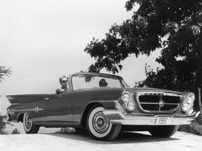 1961 Chrysler 300G Convertible classic g wallpaper