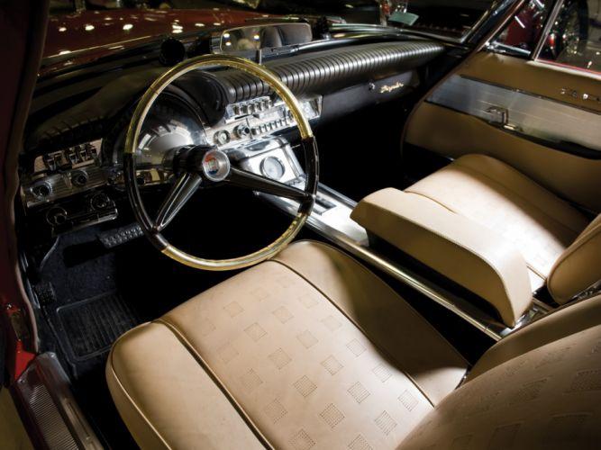 1961 Chrysler 300G Convertible classic interior h wallpaper