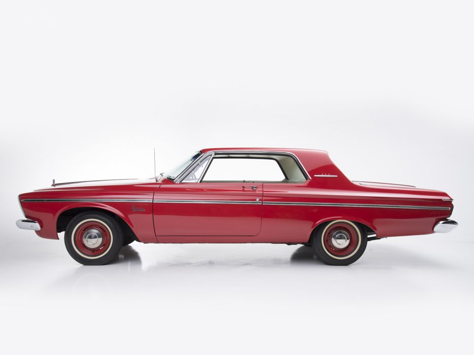 1963 Plymouth Belvedere 426 Max Wedge Stage-II Hardtop Coupe (TP2-M) muscle classic  f wallpaper