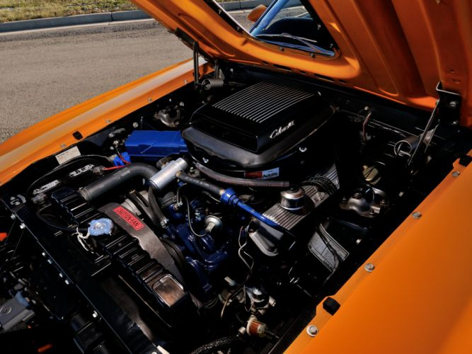 1970 Ford Mustang Mach-1 428 Super Cobra Jet Twister muscle classic engine g wallpaper