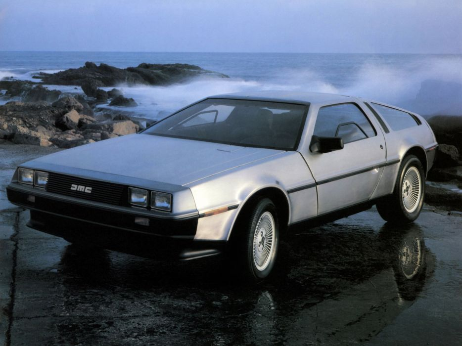 1981 DeLorean DMC-12 supercar     f wallpaper