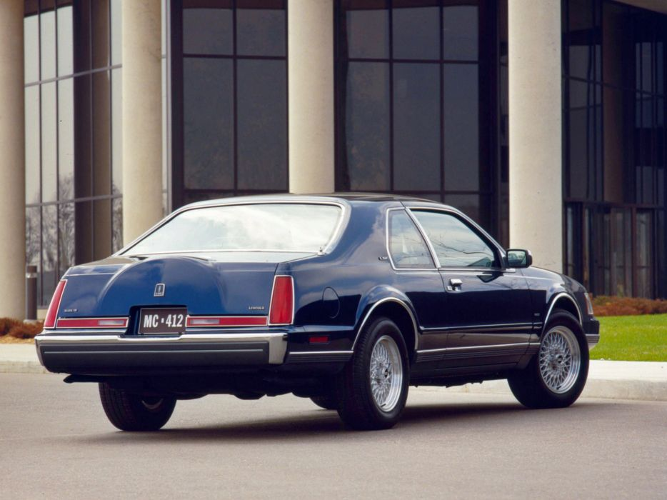1984 Lincoln Mark-VII LSC  d wallpaper