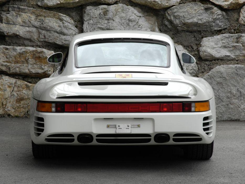 1987 Porsche 959 supercar de wallpaper