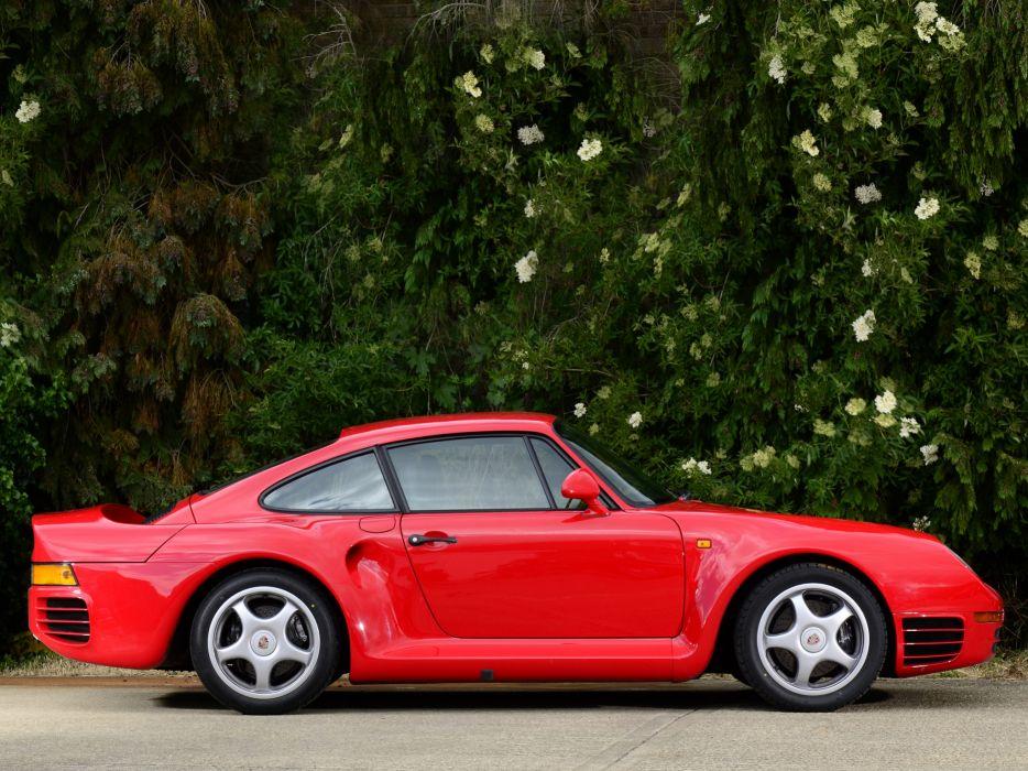 1987 Porsche 959 supercar   ds wallpaper