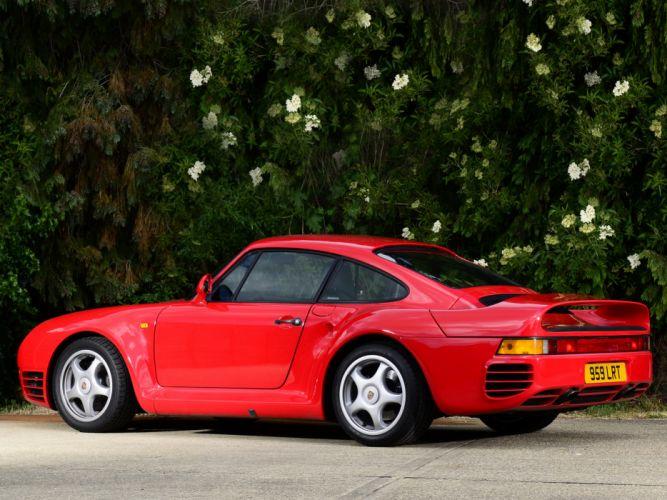 1987 Porsche 959 supercar dq wallpaper