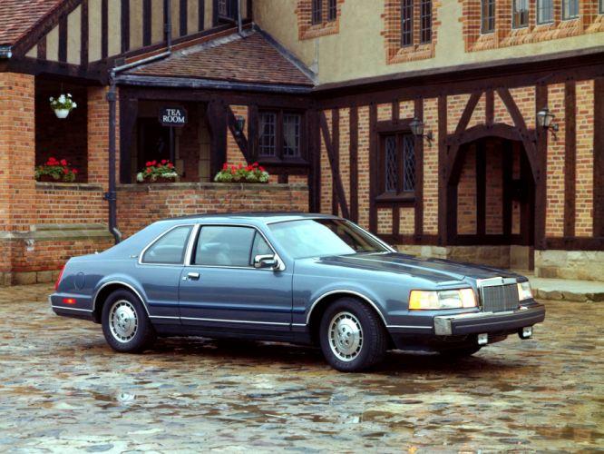 1992 1984 Lincoln Mark-VII LSC f wallpaper