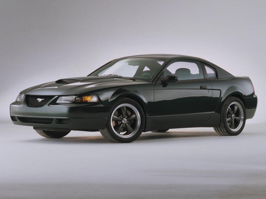 2000 Ford Mustang Bullitt G-T Concept muscle        f wallpaper