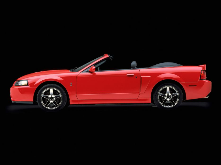 2003 Ford Mustang SVT Cobra Convertible muscle d wallpaper