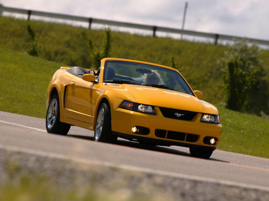 2003 Ford Mustang SVT Cobra Convertible muscle  e wallpaper