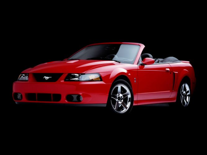 2003 Ford Mustang SVT Cobra Convertible muscle f wallpaper