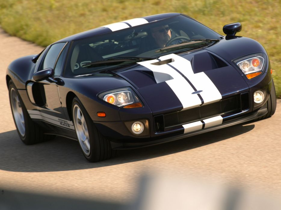 2005 Ford G-T supercar    f wallpaper