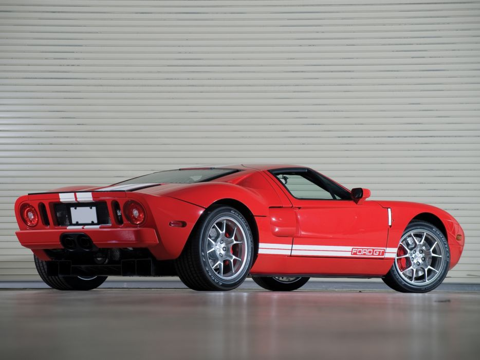 2005 Ford G-T supercar   gb wallpaper