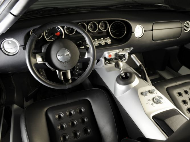 2005 Ford G-T supercar interior h wallpaper