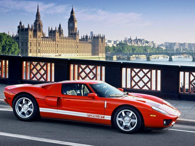 2005 Ford G-T supercar f wallpaper