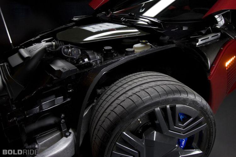 2009 Bertone Mantide supercar engine wheel f wallpaper