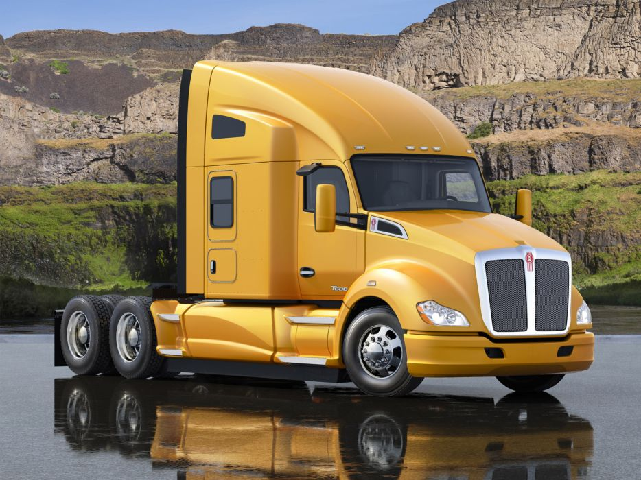 2012 Kenworth T680 tractor semi  h wallpaper