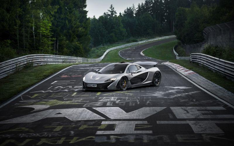 2013 McLaren P1 supercar p-1 f wallpaper