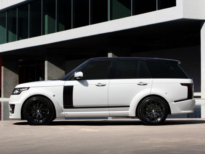 2013 TopCar Range Rover Lumma CLR R L405 suv tuning b wallpaper