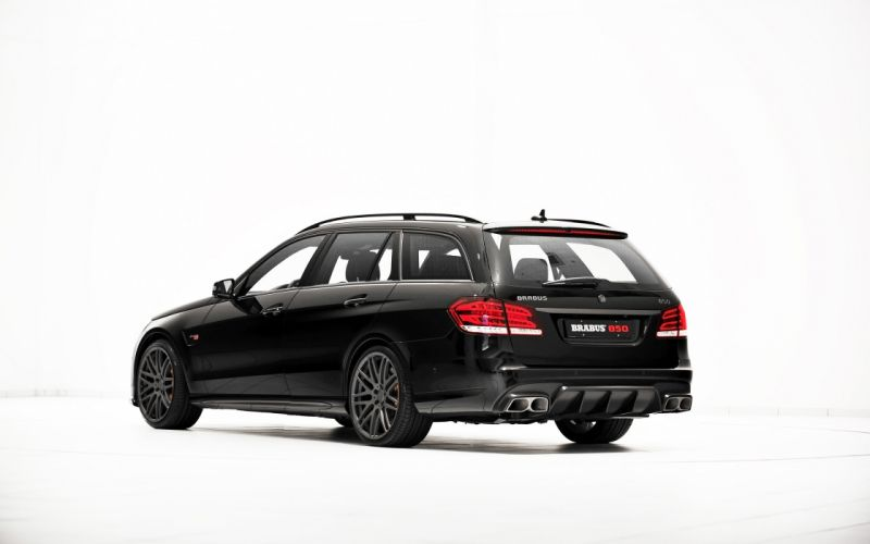 2014 Brabus Mercedes Benz E63 AMG stationwagon tuning gd wallpaper