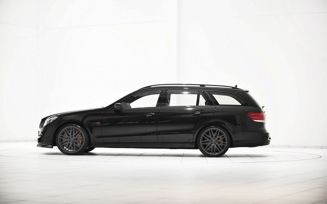 2014 Brabus Mercedes Benz E63 AMG stationwagon tuning   g wallpaper