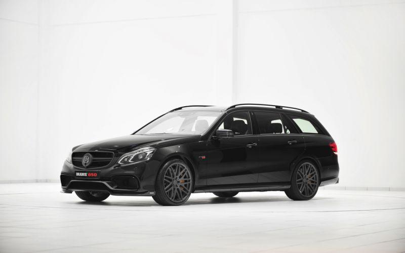 2014 Brabus Mercedes Benz E63 AMG stationwagon tuning r wallpaper