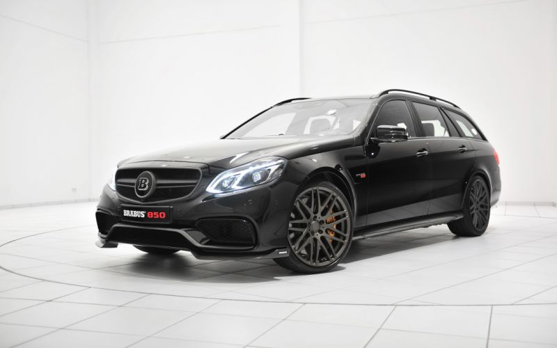 2014 Brabus Mercedes Benz E63 AMG stationwagon tuning g wallpaper