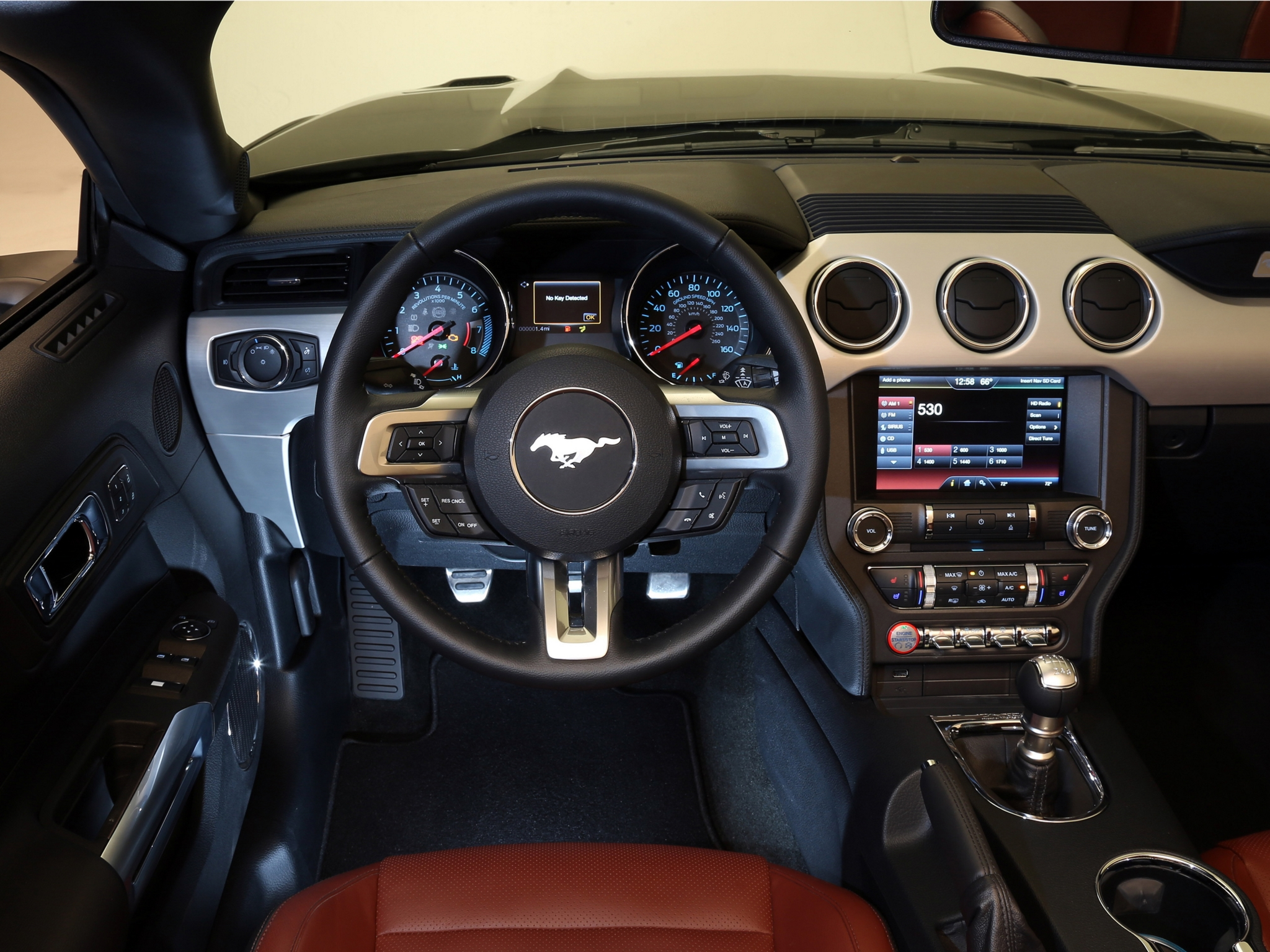 2014 ford mustang g t convertible muscle interior f. Black Bedroom Furniture Sets. Home Design Ideas