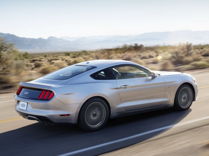 2014 Ford Mustang G-T muscle d wallpaper