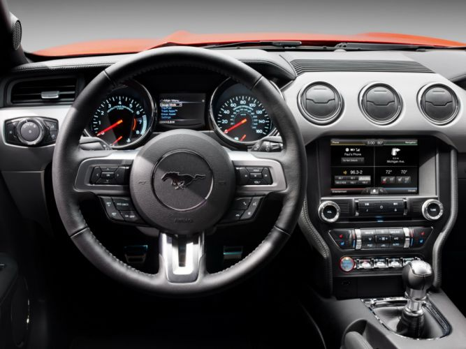 2014 Ford Mustang G-T muscle interior c wallpaper