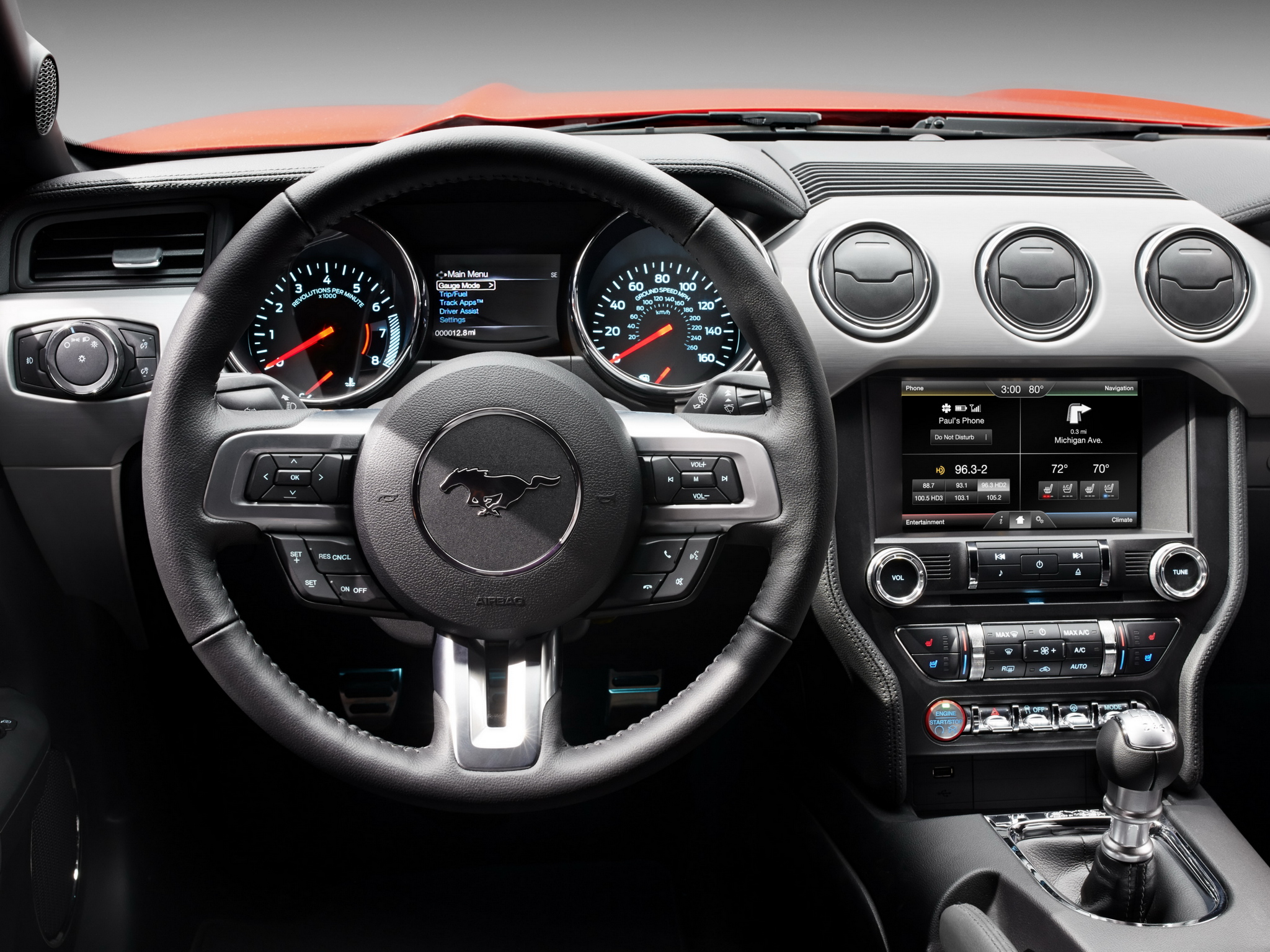 2014 ford mustang g t muscle interior c wallpaper 2048x1536 187975 wallpaperup