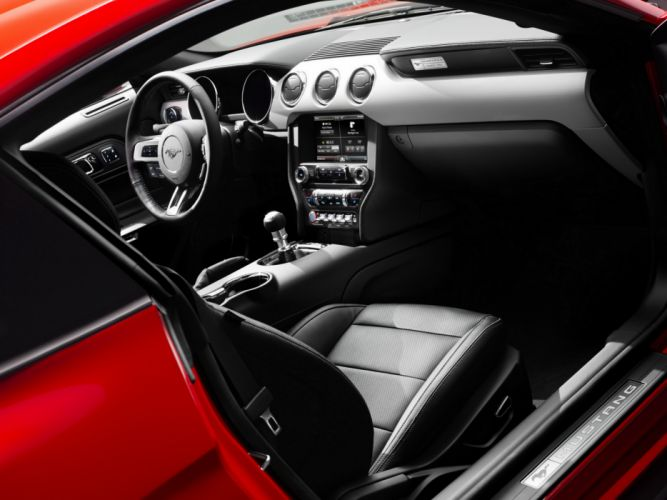 2014 Ford Mustang G-T muscle interior d wallpaper