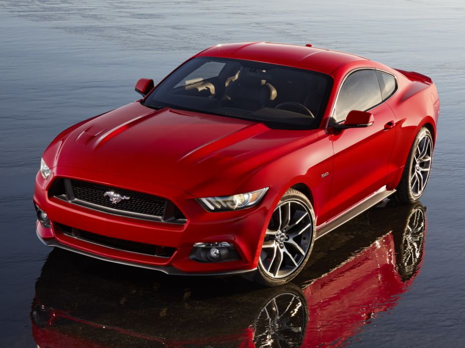 2014 Ford Mustang G-T muscle b wallpaper