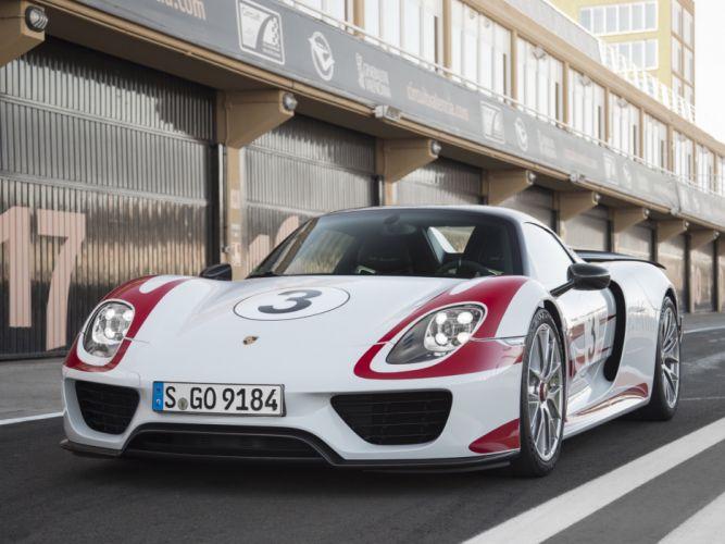 2014 Porsche 918 Spyder Weissach f wallpaper