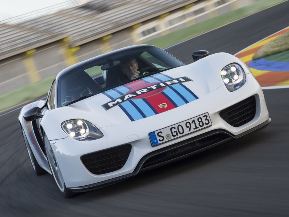 2014 Porsche 918 Spyder Weissach Package Martini Racing F Wallpaper