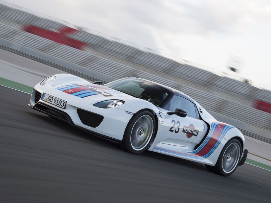 2014 Porsche 918 Spyder Weissach Package Martini Racing Race Supercar F Wallpaper