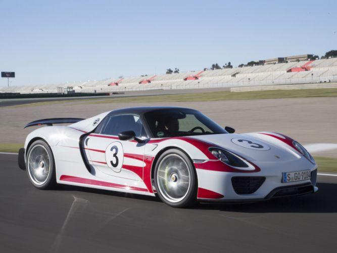 2014 Porsche 918 Spyder Weissach race racing supercar db wallpaper