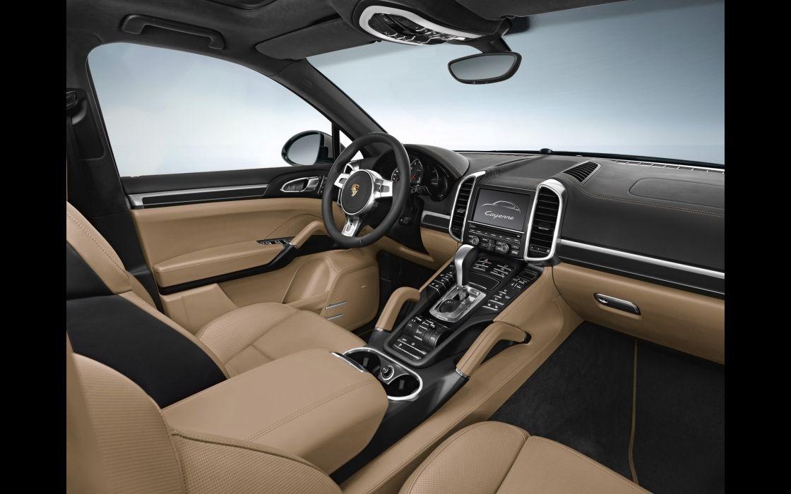 2014 Porsche Cayenne Platinum interior     g wallpaper