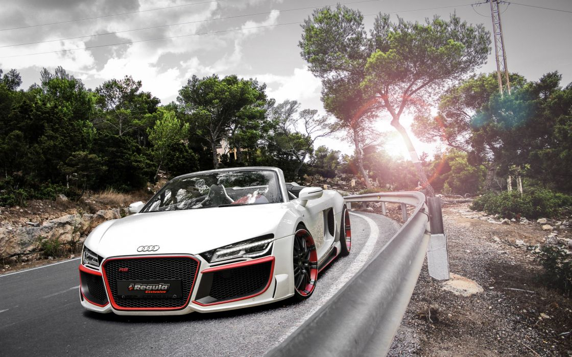 2014 Regula-Tuning Audi R8 V10 Spyder tuning supercar r-8      f wallpaper