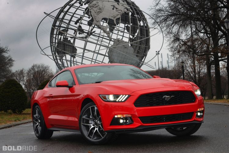 2015 Ford Mustang muscle f wallpaper
