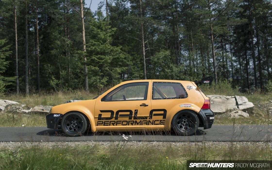 Dala-Performance Volkswagen Golf R32 tuning race racing        g wallpaper