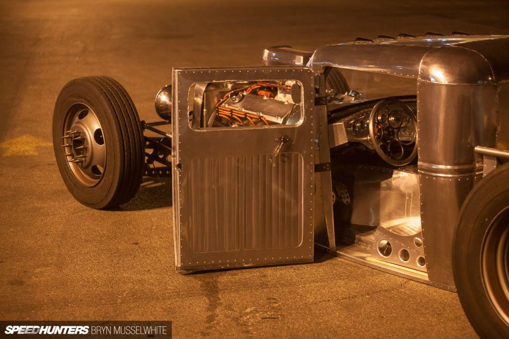 Ford Model-A rat rod rods hot custom retro interior truck     fr wallpaper