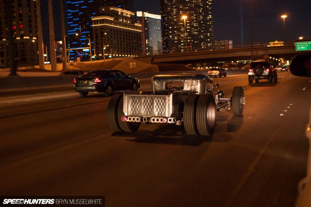Ford Model-A rat rod rods hot custom retro truck    g wallpaper