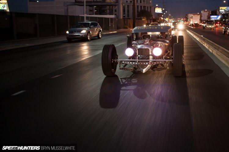 Ford Model-A rat rod rods hot custom retro truck r wallpaper