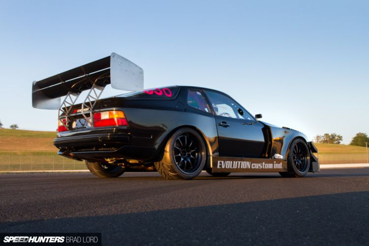 Porsche 944 Turbo drift race racing f wallpaper