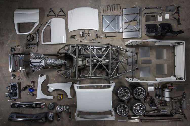 Toyota Hilux pickup tuning drift race racing lowrider interior engine bokeh g wallpaper