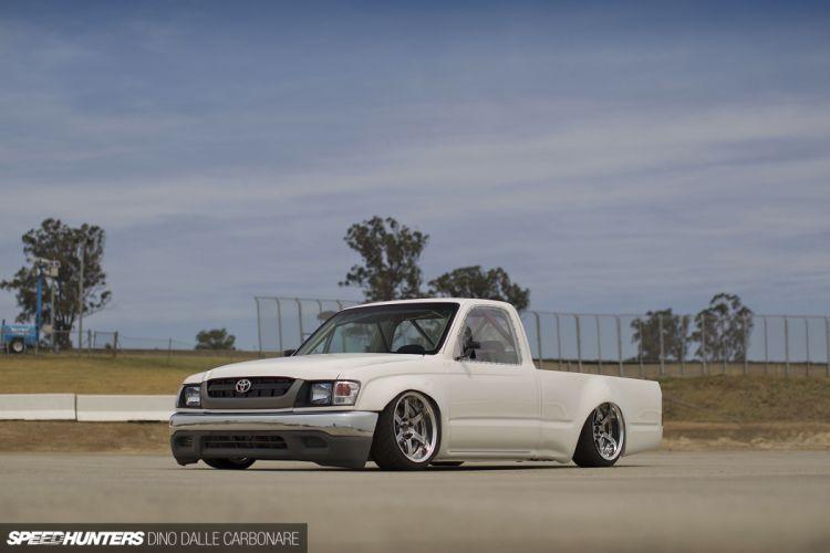Toyota Hilux pickup tuning drift race racing lowrider f wallpaper