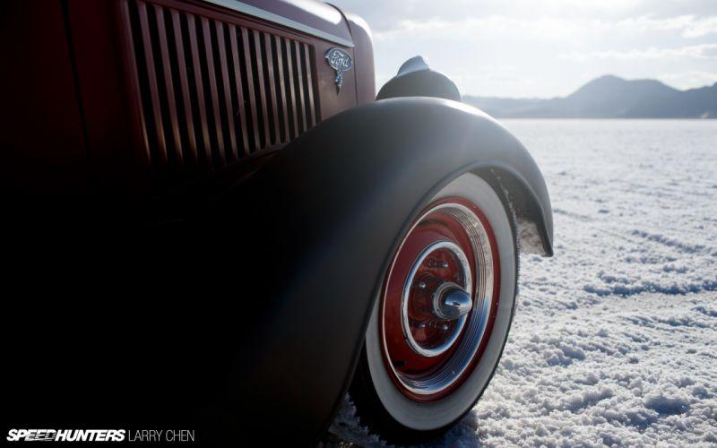 1936 Ford Pickup hot rod rods lowrider retro custom wheel v wallpaper