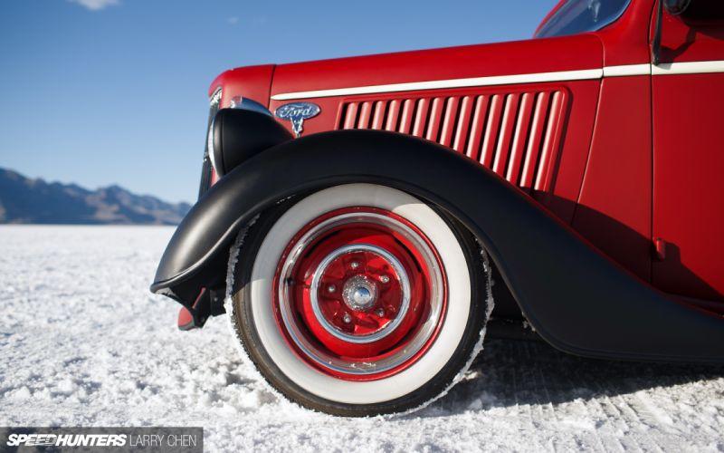 1936 Ford Pickup hot rod rods lowrider retro custom wheel f wallpaper