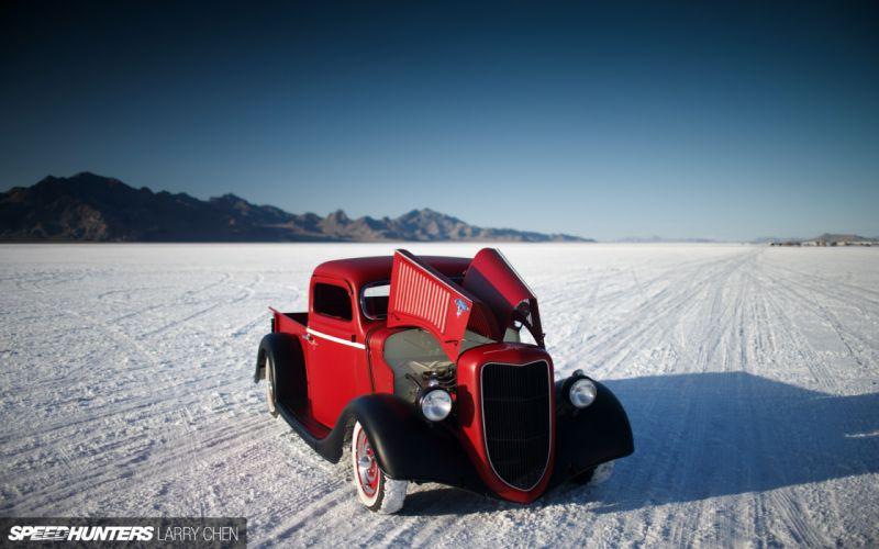 1936 Ford Pickup hot rod rods lowrider retro custom h wallpaper
