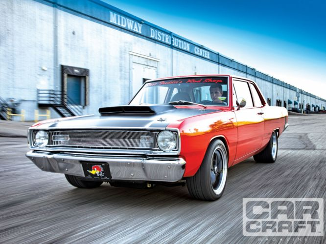 Dodge Dart muscle classic hot rod rods f wallpaper